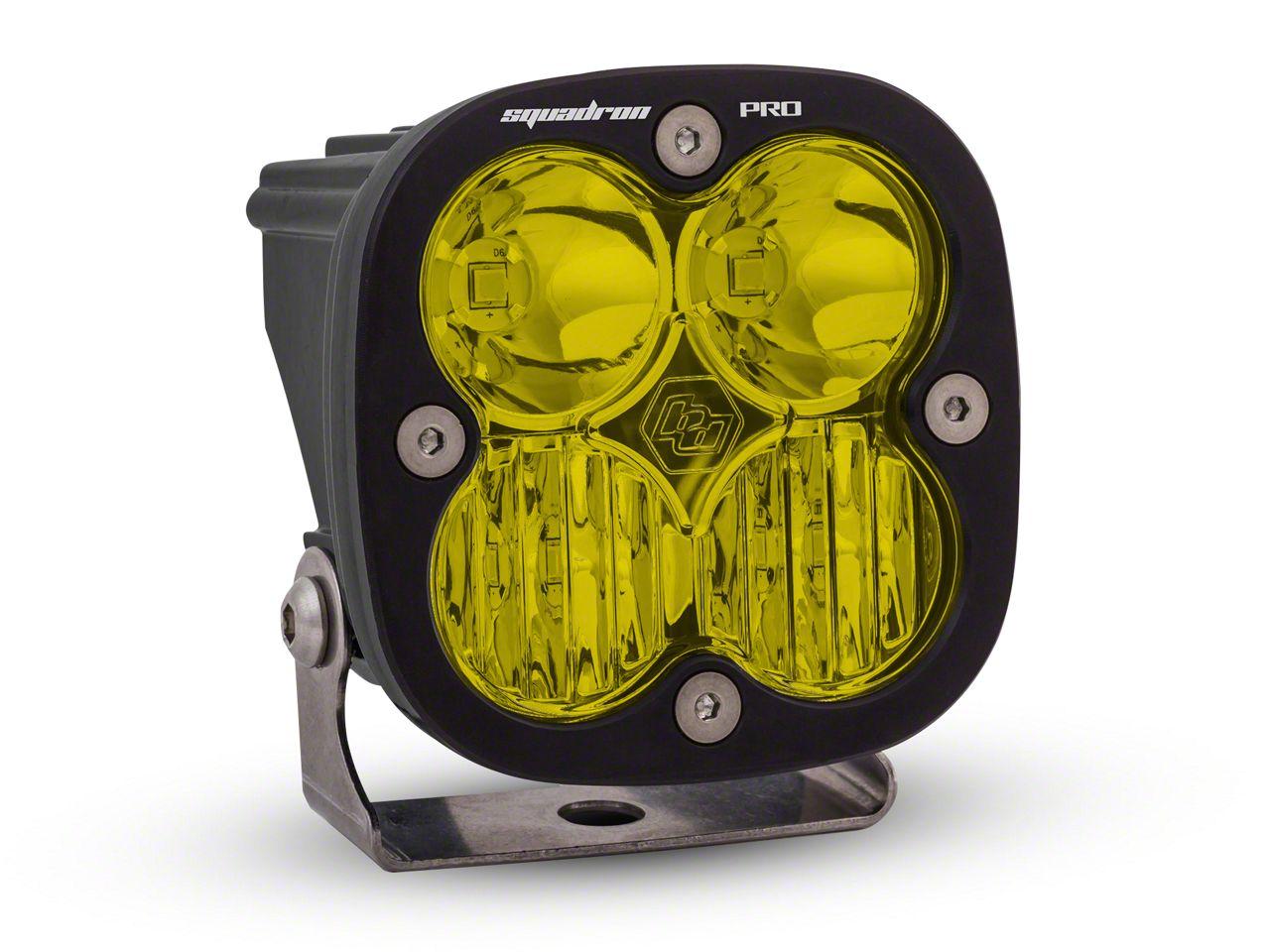 Baja Designs Squadron Pro Amber LED Light - Driving Beam