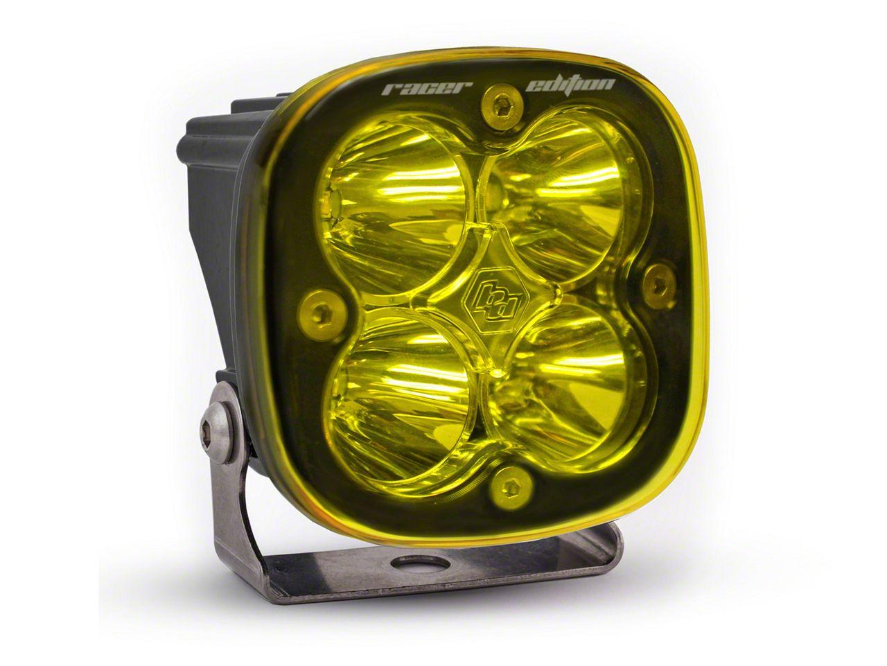 Baja Designs Squadron Racer Edition Amber LED Light - Spot Beam