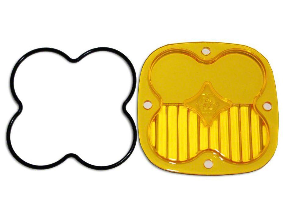 Baja Designs Squadron Series Amber Lens Kit - Driving/Combo Beam (07-18 Sierra 1500)