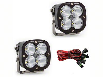 Baja Designs XL Racer Edition LED Light - High Speed Spot Beam - Pair