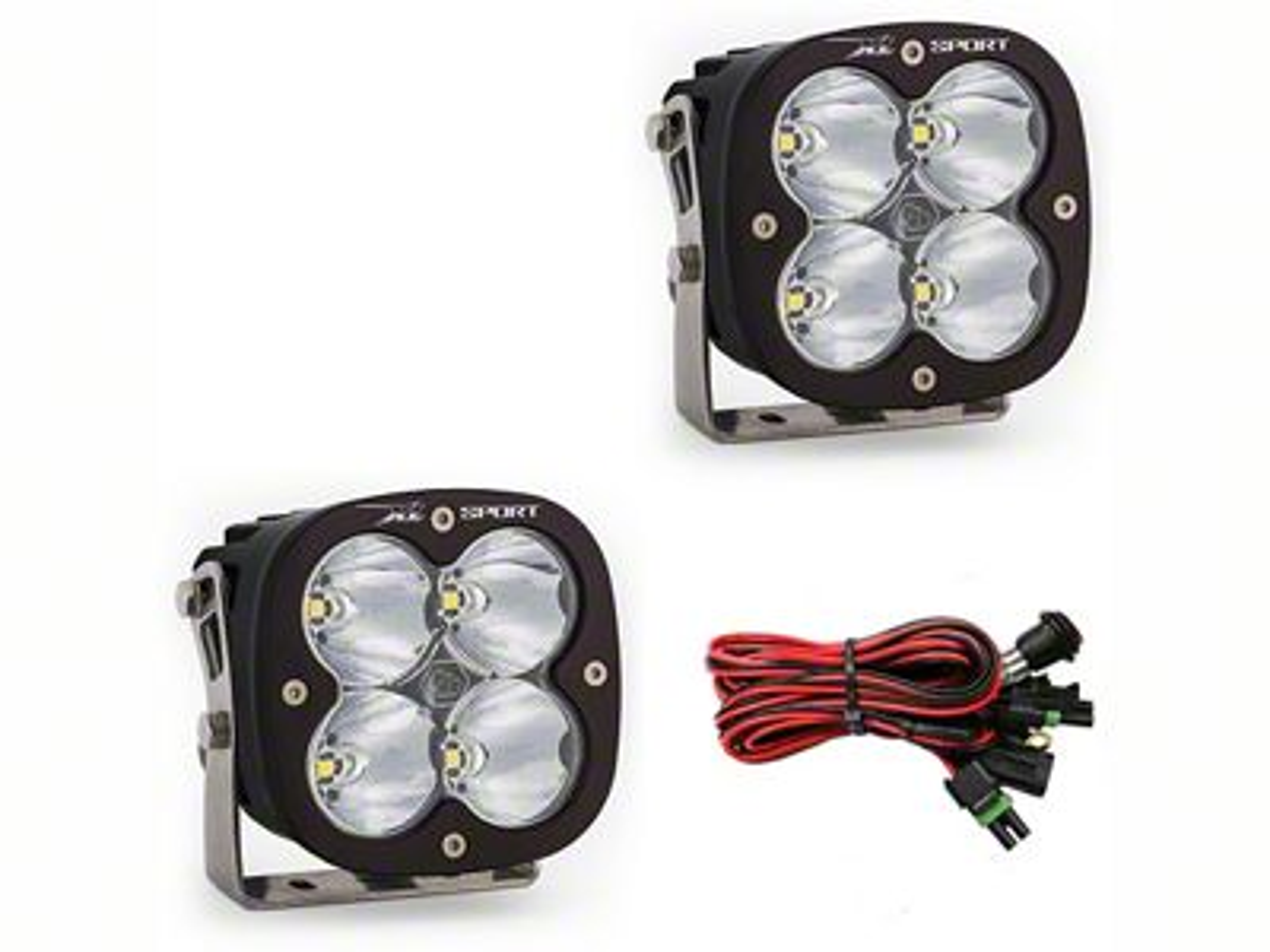 Baja Designs XL Sport LED Light - High Speed Spot Beam - Pair