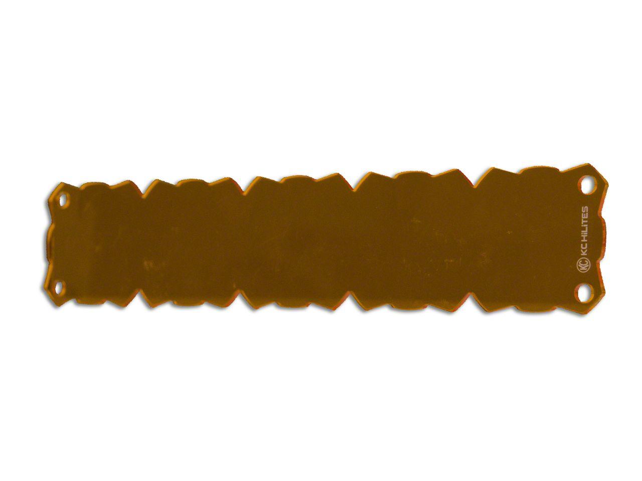 KC HiLiTES 20 in. Amber Light Shield for KC Flex (07-18 Sierra 1500)