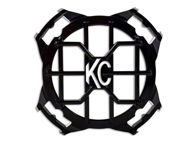 KC HiLiTES 4 in. Round Stone Guard w/ Blackout Insert for LZR Series LED Lights