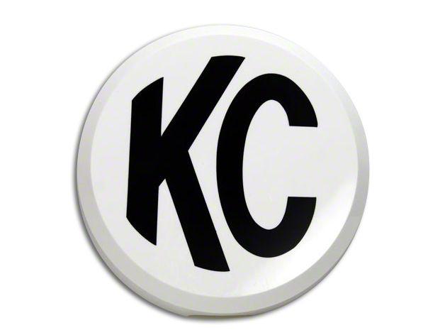 KC HiLiTES 6 in. Daylighter/Slimlite Cover - White (07-18 Sierra 1500)