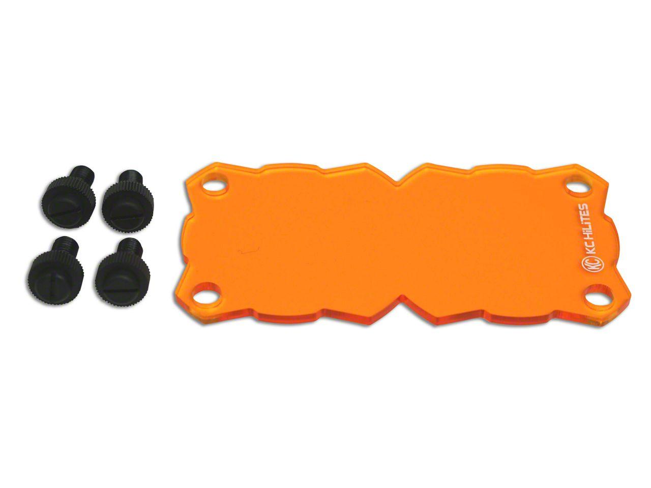 KC HiLiTES Amber Dual Light Shield for KC Flex (07-18 Sierra 1500)