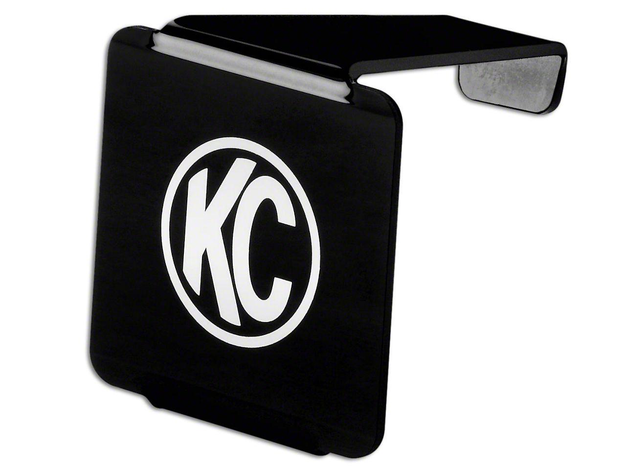 KC HiLiTES Hard Cover for 3 in. LZR Cube Light - Black (07-18 Sierra 1500)