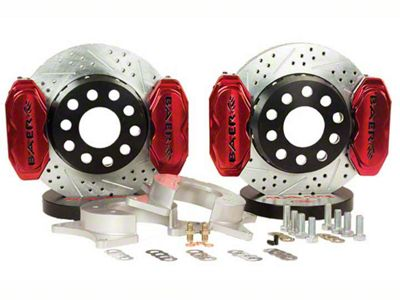 Baer AlumaSport Front Brake Kit - Red (07-18 Sierra 1500)
