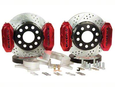 Baer AlumaSport Plus Front Brake Kit - Red (07-18 Sierra 1500)