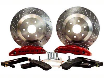 Baer Extreme Front Brake Kit - Red (07-18 Sierra 1500)