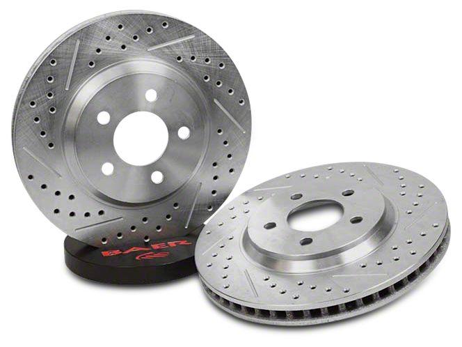 Baer Sport Drilled & Slotted Rotors - Rear Pair (07-18 Sierra 1500)