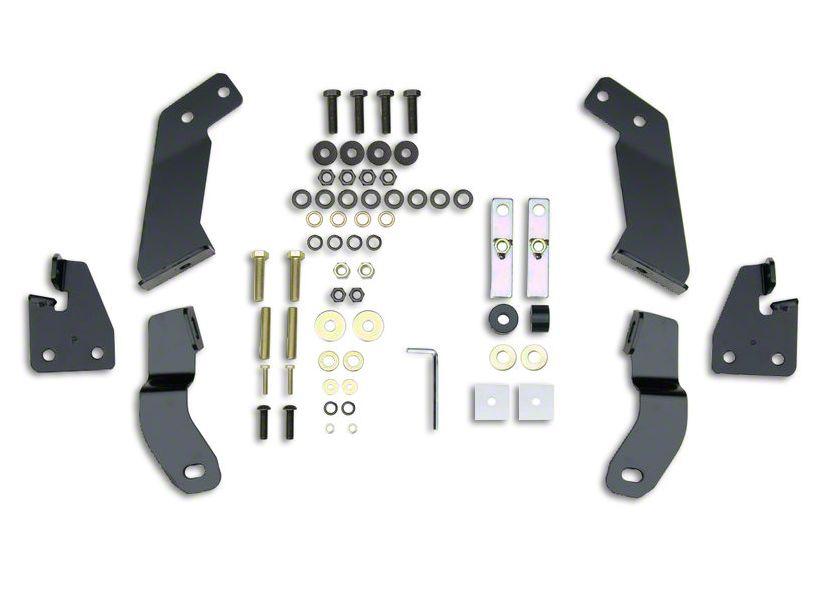 Westin HDX Grille Guard - Black (16-18 Sierra 1500)