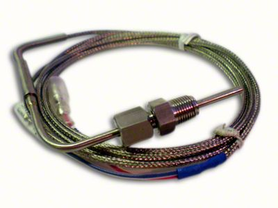 Prosport Dual Color EGT Premium Metric Boost Gauge - Amber/White (07-18 Sierra 1500)