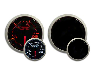 Prosport Dual Color Fuel Level Gauge - Electrical - Amber/White (07-18 Sierra 1500)