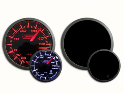 Prosport Dual Color 45 PSI Boost Gauge - Electrical - Amber/White (07-18 Sierra 1500)