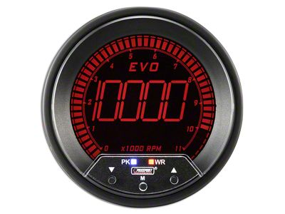 Prosport Quad Color Evo Tachometer - 85mm (07-18 Sierra 1500)