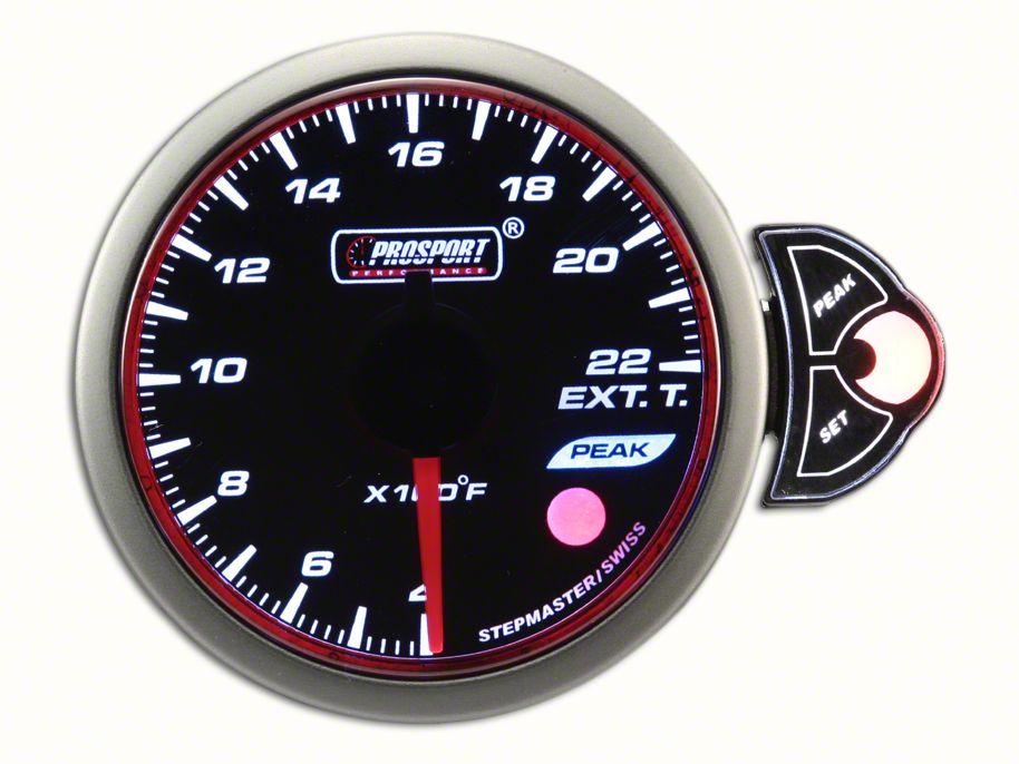 Prosport Halo Exhaust Gas Temperature Gauge (07-18 Sierra 1500)