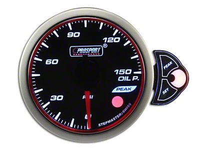 Prosport Halo Oil Pressure Gauge - Electrical (07-18 Sierra 1500)