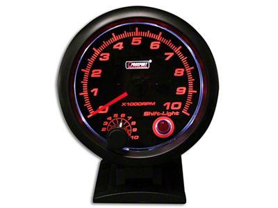 Prosport Performance Tachometer w/Shift Light - 3-3/4 in. (07-18 Sierra 1500)