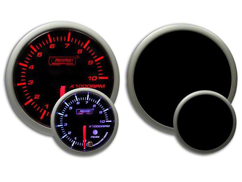 Prosport Dual Color Premium Dual Color Tachometer - Amber/White (07-18 Sierra 1500)
