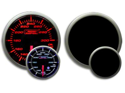 Prosport Dual Color Premium Oil Temperature Gauge - Amber/White (07-18 Sierra 1500)