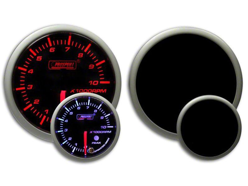 Prosport Dual Color Premium Tachometer - Amber/White (07-18 Sierra 1500)