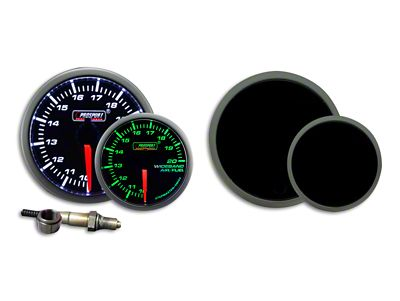 Prosport Dual Color Premium Wideband Air Fuel Ratio Kit - Green/White (07-18 Sierra 1500)
