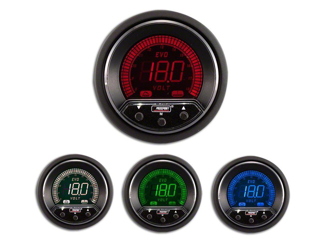 Prosport Premium Evo Volt Gauge (07-18 Sierra 1500)