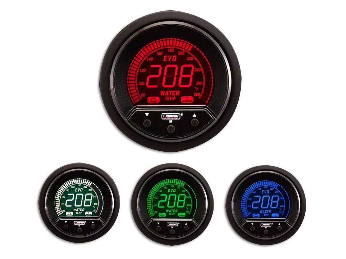 Prosport Premium Evo Water Temperature Gauge - Electrical (07-18 Sierra 1500)