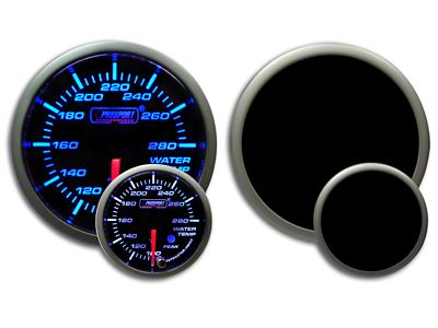 Prosport Premium Water Temperature Gauge - Blue/White (07-18 Sierra 1500)