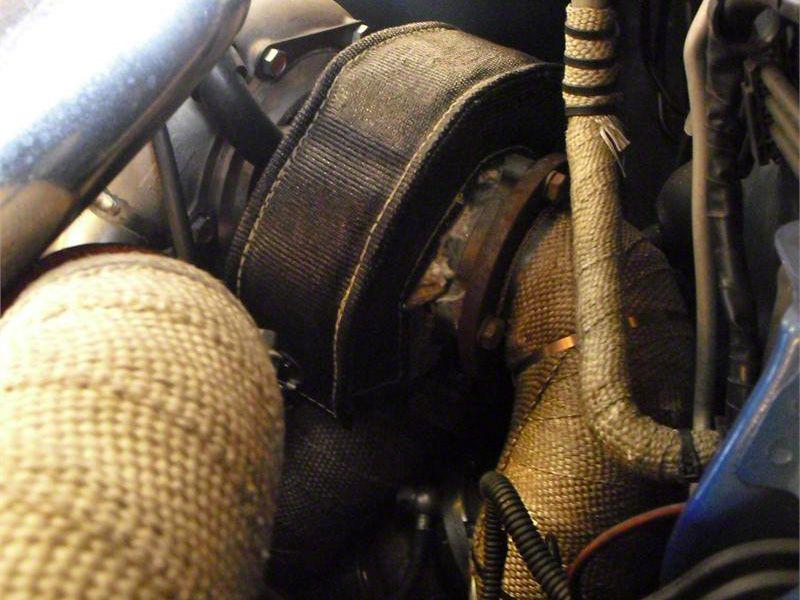 Prosport T4 Turbo Heat Shield Blanket - Black (07-18 Sierra 1500)