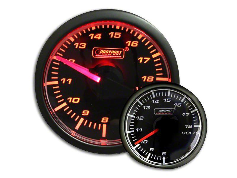 Prosport Voltmeter Gauge - Electrical - Amber (07-18 Sierra 1500)