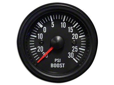 Prosport White LED Boost Gauge - Electrical (07-18 Sierra 1500)