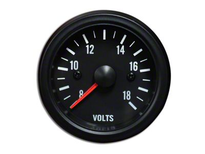 Prosport White LED Volt Gauge - Electrical (07-18 Sierra 1500)