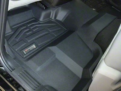 Wade Sure-Fit 2nd Row Floor Liner - Black (14-18 Sierra 1500 Double Cab, Crew Cab)