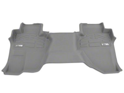 Wade Sure-Fit 2nd Row Floor Mat - Gray (14-18 Sierra 1500 Double Cab, Crew Cab)