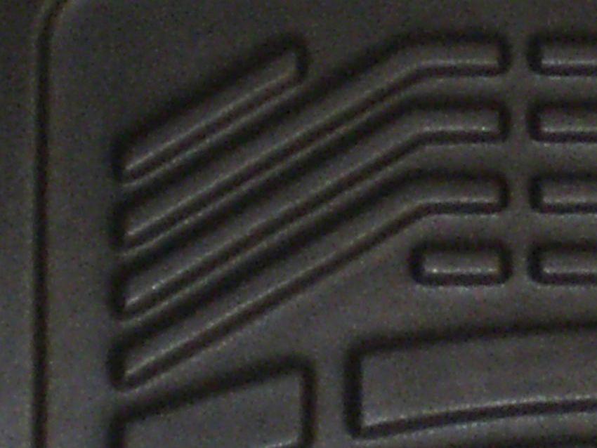 Wade Sure-Fit Front Floor Mats - Black (14-18 Sierra 1500)