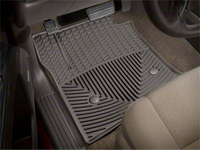 Weathertech All Weather Front Rubber Floor Mats - Cocoa (14-18 Sierra 1500)
