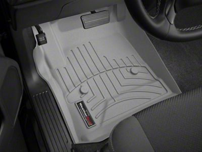 Weathertech DigitalFit Front Floor Liners - Gray (14-18 Sierra 1500)