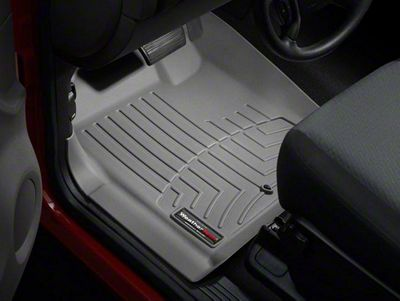 Weathertech DigitalFit Front Floor Liners - Gray (07-13 Sierra 1500)