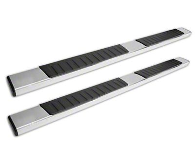 Westin R7 Nerf Side Step Bars - Stainless Steel (14-18 Sierra 1500 Double Cab, Crew Cab)