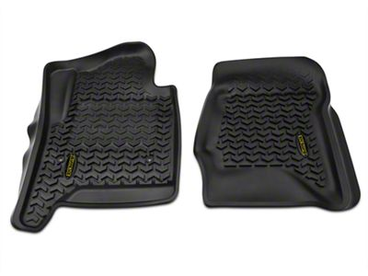 Barricade Front Floor Mats - Black (14-18 Sierra 1500)