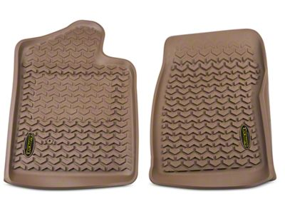 Barricade Front Floor Liners - Tan (07-13 Sierra 1500 Regular Cab)