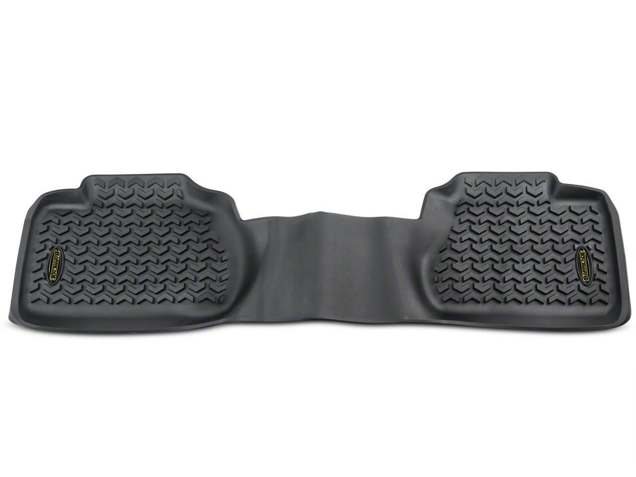 Barricade Rear Floor Mat - Black (07-13 Sierra 1500 Extended Cab)