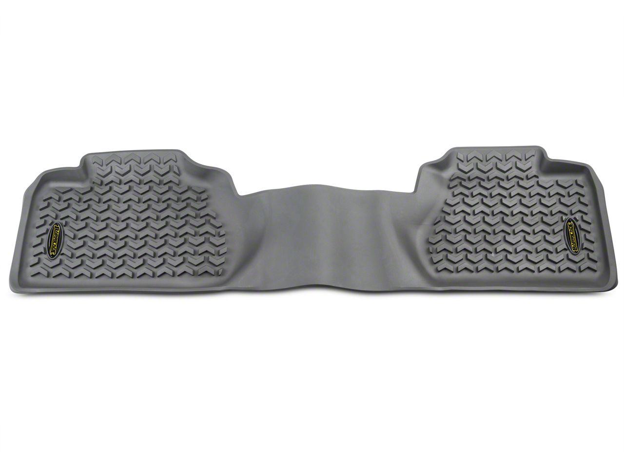 Barricade Rear Floor Mat - Gray (07-13 Sierra 1500 Extended Cab)