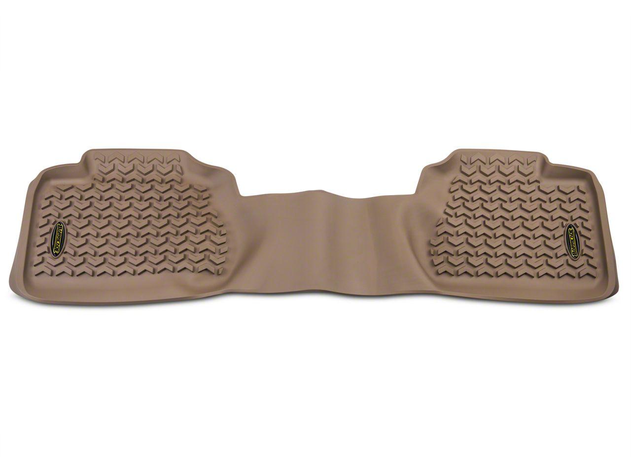 Barricade Rear Floor Mat - Tan (07-13 Sierra 1500 Extended Cab)