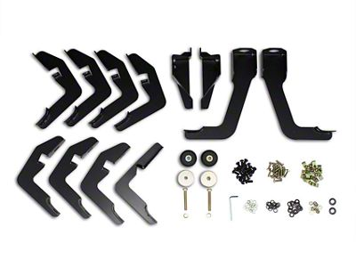 Westin 5 in. Pro Traxx WTW Oval Side Step Bars - Stainless Steel (14-18 Sierra 1500 Double Cab, Crew Cab w/ Short Box)