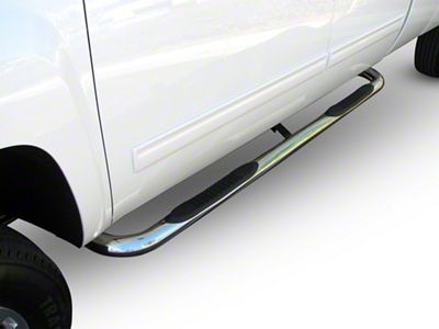 Steel Craft 3 in. Blackout Series Body Mount Side Step Bars (14-18 Sierra 1500 Regular Cab, Crew Cab)