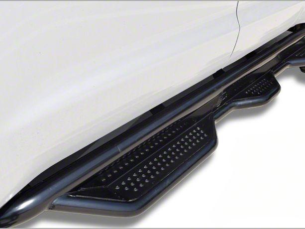 Steel Craft Heavy Duty Wheel-to-Wheel Side Step Bars - Semi-Gloss Black (07-13 Sierra 1500 Extended Cab w/ Standard Box)