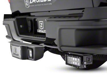 ZRoadz 2.5 in. Receiver Hitch Step w/ 3 in. LED Cube Lights (07-19 Sierra 1500)