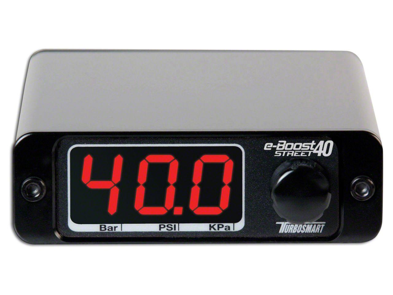 Turbosmart e-Boost Street Boost Controller - 40 PSI (07-18 Sierra 1500)
